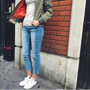 Gap Best Girlfriend Two Toned Jeans 28